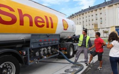 Primera descarga de Shell en La Peregrina